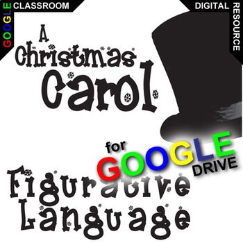 A CHRISTMAS CAROL Figurative Language Analyzer (55 Quotes) (Created for  Digital)
