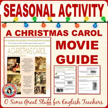 A CHRISTMAS CAROL Movie Guide with History, Literature, and Reflection