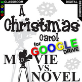 A CHRISTMAS CAROL Movie vs Novel Comparison (Created for Digital)