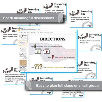 A CHRISTMAS CAROL PreReading Bias Activity (Created for Digital)