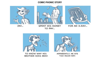 A COMIC PHONIC READING AND WRITING BUNDLE