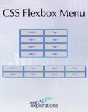 A CSS Flexbox Menu (Distance Learning)