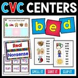 CVC Words Centers