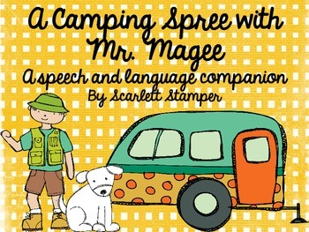 A Camping Spree with Mr. Magee: Book Companion