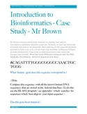 A Cancer Genomics   Case Study