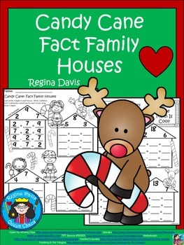 A+ Candy Cane: Fact Family Houses