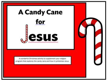 A Candy Cane for Jesus