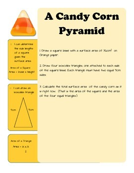 A Candy Corn Pyramid