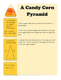 A Candy Corn Pyramid
