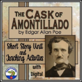 The Cask of Amontillado - Edgar Allan Poe Short Story Unit Teaching Activities