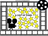 PREPRINTED! A Cast of Stars Bulletin Board No Prep