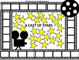 #backtoschool PREPRINTED! A Cast of Stars Bulletin Board No Prep