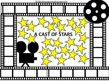 PREPRINTED! A Cast of Stars Bulletin Board No Prep