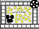 A Cast of Stars bulletin board