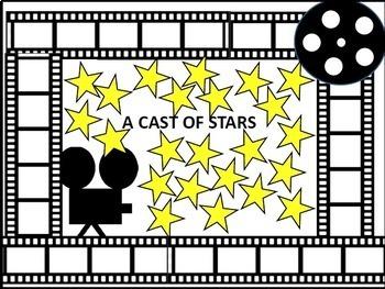 A Cast of Stars bulletin board