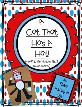 A Cat That Has A Hat (crafts, literacy, math, & much more!)