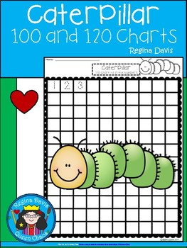 A+ Caterpillar: Numbers 100 and 120 Chart