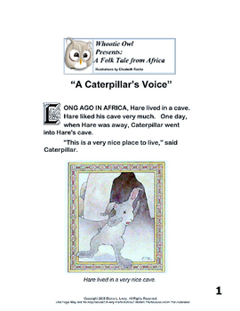A Caterpillar's Voice Short Story Free