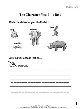 """A Caterpillar's Voice"" Short Story Unit-Reader's Theater Script & Activities"