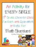 A Center for EVERY 1st Grade Numbers & Operations in Base