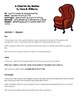 A Chair For My Mother by Vera B. Williams - Vocabulary Word Work