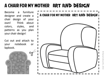 A Chair for My Mother Differentiated Interactive Notebook Reading Activities