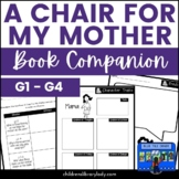 A Chair for My Mother Graphic Organizer and Activities