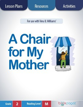 A Chair for My Mother Lesson Plans & Activities Package, Second Grade (CCSS)