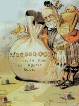 A Changing Society:  Captains of Industry or Robber Barons?