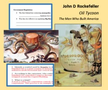 A Changing Society; John Rockefeller Oil Tycoon; The Men W