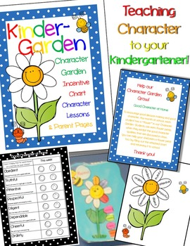 A Character Lesson for Kindergarten - 4 weeks of Lesson Plans!