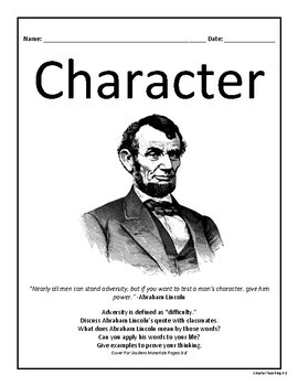 Character Study: Mini-Course