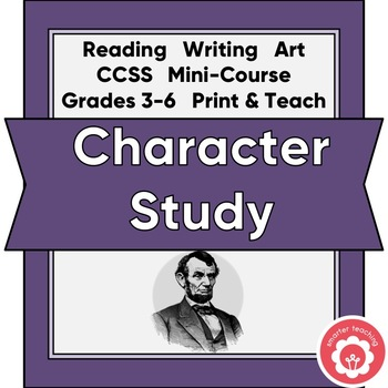 Character Study With Anchor Chart