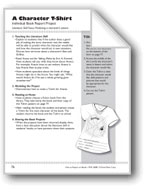A Character T-Shirt (Book Project)