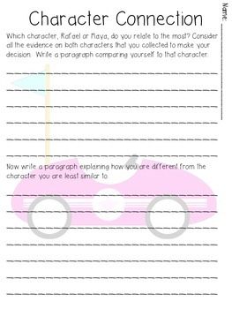 A Character Traits Book Study: Going Places