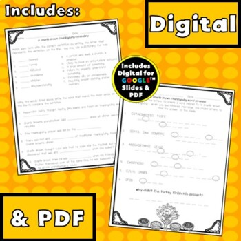 A Charlie Brown Thanksgiving {Digital & PDF Included}
