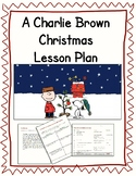 A Charlie Brown Christmas Lesson Plan