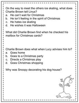 A Charlie Brown Christmas Activity Workbook