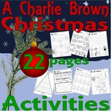 A Charlie Brown Christmas Activity Worksheets 7pg : Spelli