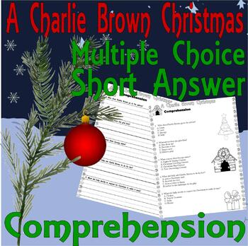 A Charlie Brown Christmas Comprehension Multiple Choice