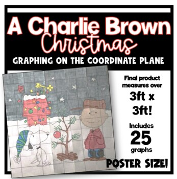 A Charlie Brown Christmas POSTER (Graphing on the Coordinate Plane)