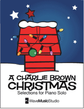 A Charlie Brown Christmas Book.A Charlie Brown Christmas Piano Book Digital Print