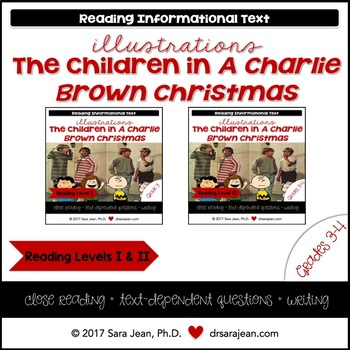 A Charlie Brown Christmas • Reading Comprehension Passages & Questions • RL I/II