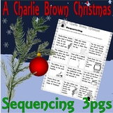 A Charlie Brown Christmas Story Sequencing Activity : Cart