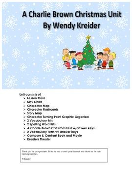 A Charlie Brown Christmas Unit