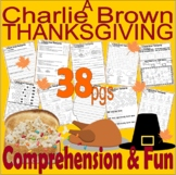 A Charlie Brown Thanksgiving : BOOK or Cartoon Comprehensi