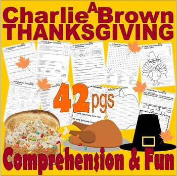 A Charlie Brown Thanksgiving : BOOK or Cartoon Comprehensi