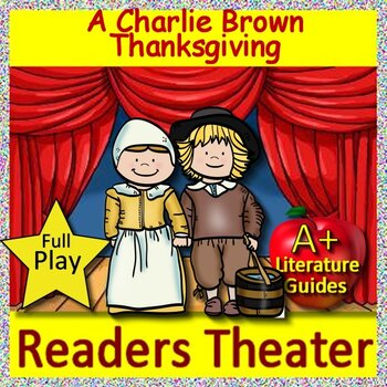 A Charlie Brown Thanksgiving Readers Theater (Play, Script) AND Jeopardy Game!