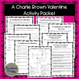 A Charlie Brown Valentine Activity Pages - February - No Prep! Print and Go!