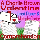 A Charlie Brown Valentine : Comprehension Questions for Book & TV Special